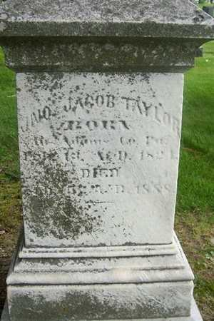 TAYLOR, JNO JACOB - Linn County, Iowa | JNO JACOB TAYLOR