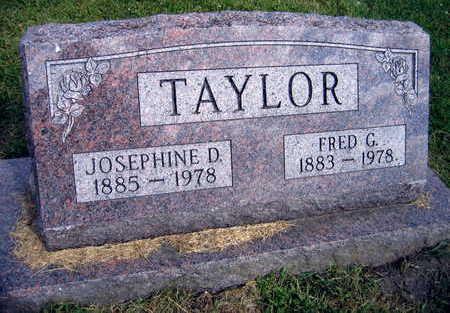 TAYLOR, JOSEPHINE D. - Linn County, Iowa | JOSEPHINE D. TAYLOR