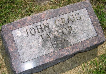 TAYLOR, JOHN CRAIG - Linn County, Iowa | JOHN CRAIG TAYLOR
