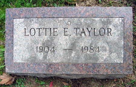 TAYLOR, LOTTIE E. - Linn County, Iowa   LOTTIE E. TAYLOR