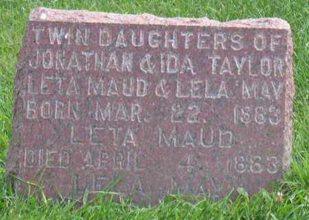 TAYLOR, LELA MAY - Linn County, Iowa | LELA MAY TAYLOR
