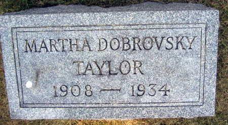 DOBROVSKY TAYLOR, MARTHA - Linn County, Iowa | MARTHA DOBROVSKY TAYLOR
