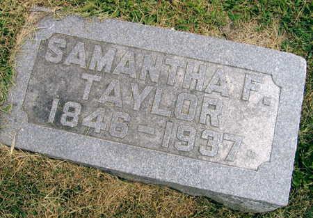 TAYLOR, SAMANTHA F. - Linn County, Iowa | SAMANTHA F. TAYLOR
