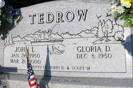 TEDROW, JOHN L. - Linn County, Iowa | JOHN L. TEDROW
