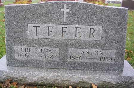 TEFER, ANTON - Linn County, Iowa | ANTON TEFER
