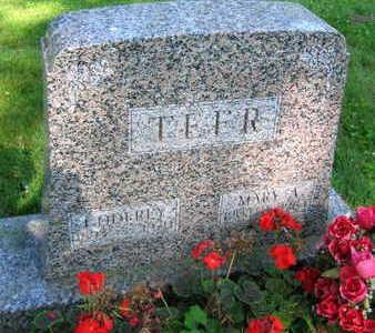 TEFR, MARY A. - Linn County, Iowa | MARY A. TEFR