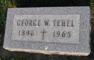 TEHEL, GEORGE W. - Linn County, Iowa | GEORGE W. TEHEL