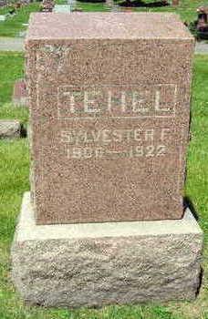 TEHEL, SYLVESTER F. - Linn County, Iowa | SYLVESTER F. TEHEL