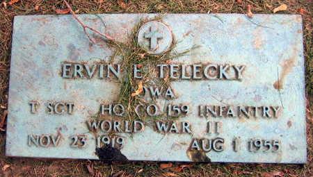 TELECKY, ERVIN E. - Linn County, Iowa | ERVIN E. TELECKY