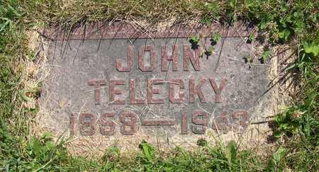 TELECKY, JOHN - Linn County, Iowa   JOHN TELECKY
