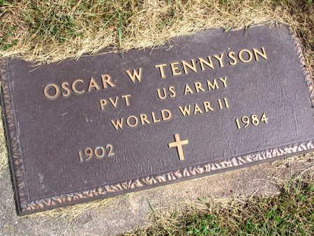TENNYSON, OSCAR W. - Linn County, Iowa | OSCAR W. TENNYSON