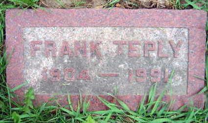 TEPLY, FRANK - Linn County, Iowa   FRANK TEPLY