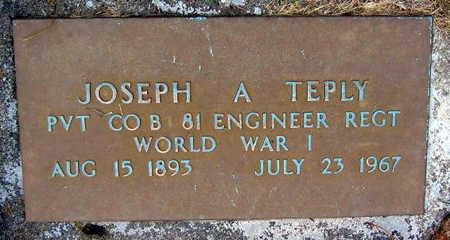 TEPLY, JOSEPH A. - Linn County, Iowa | JOSEPH A. TEPLY