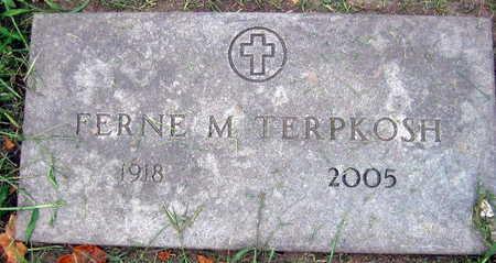 TERPKOSH, FERNE M. - Linn County, Iowa | FERNE M. TERPKOSH
