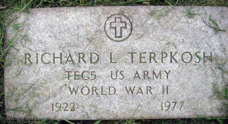 TERPKOSH, RICHARD L. - Linn County, Iowa | RICHARD L. TERPKOSH