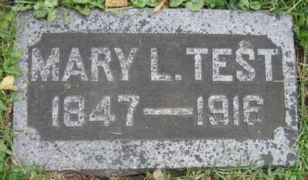 TEST, MARY L. - Linn County, Iowa | MARY L. TEST