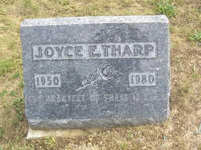 THARP, JOYCE F. - Linn County, Iowa | JOYCE F. THARP
