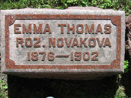 NOVAKOVA THOMAS, EMMA - Linn County, Iowa | EMMA NOVAKOVA THOMAS