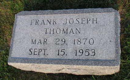 THOMAN, FRANK JOSEPH - Linn County, Iowa | FRANK JOSEPH THOMAN