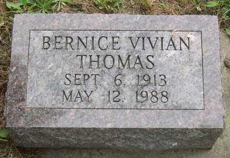 THOMAS, BERNICE VIVIAN - Linn County, Iowa | BERNICE VIVIAN THOMAS