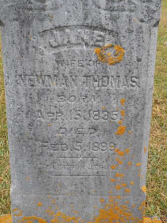 THOMAS, JANE    (JANE L.) - Linn County, Iowa | JANE    (JANE L.) THOMAS