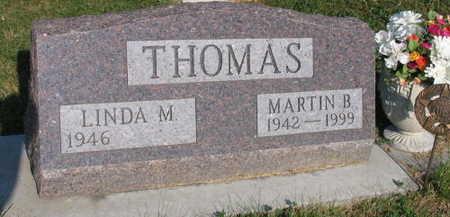 THOMAS, MARTIN B. - Linn County, Iowa   MARTIN B. THOMAS