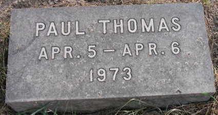 THOMAS, PAUL - Linn County, Iowa   PAUL THOMAS