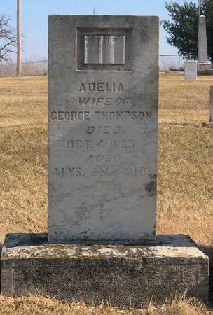 THOMPSON, ADELIA - Linn County, Iowa   ADELIA THOMPSON