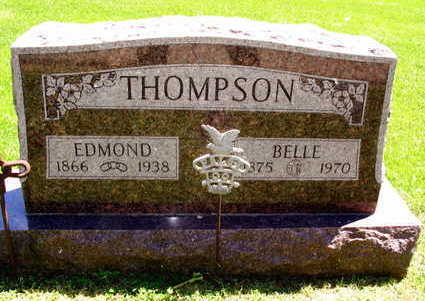 THOMPSON, EDMOND - Linn County, Iowa   EDMOND THOMPSON