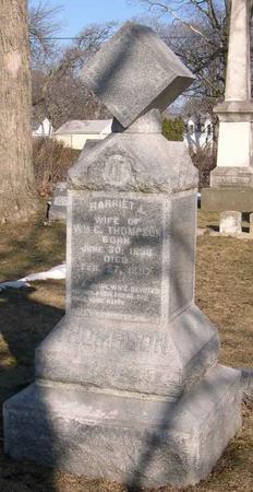 THOMPSON, HARRIET J. - Linn County, Iowa   HARRIET J. THOMPSON