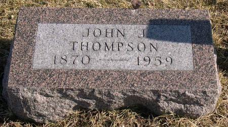 THOMPSON, JOHN J. - Linn County, Iowa | JOHN J. THOMPSON