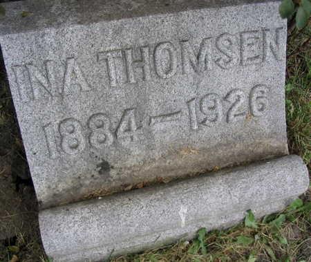 THOMSEN, INA - Linn County, Iowa | INA THOMSEN