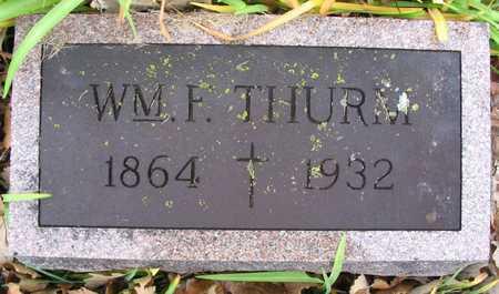 THURM, WM. F. - Linn County, Iowa | WM. F. THURM