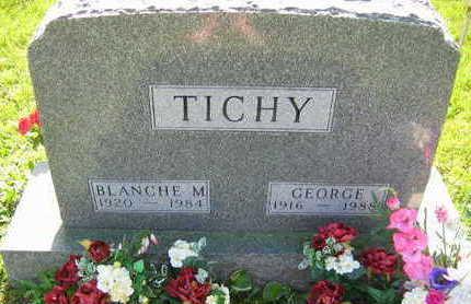 TICHY, GEORGE - Linn County, Iowa | GEORGE TICHY