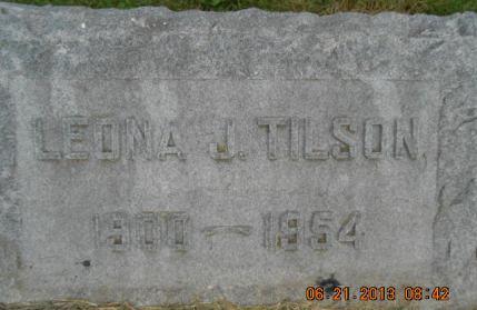 TILSON, LEONA J. - Linn County, Iowa | LEONA J. TILSON