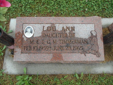 TIMMERMAN, LOU ANN - Linn County, Iowa | LOU ANN TIMMERMAN