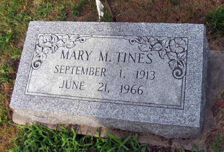 TINES, MARY M. - Linn County, Iowa | MARY M. TINES