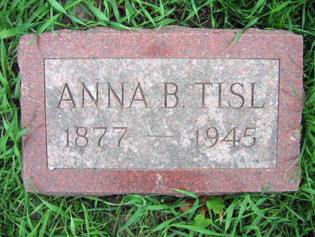 TISL, ANNA B. - Linn County, Iowa | ANNA B. TISL