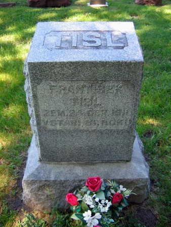TISL, FRANTISEK - Linn County, Iowa   FRANTISEK TISL