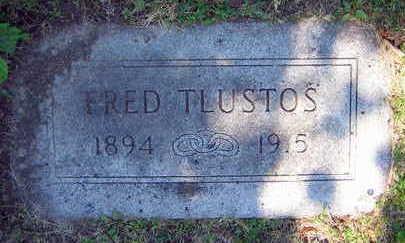 TLUSTOS, FRED - Linn County, Iowa | FRED TLUSTOS
