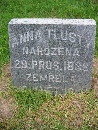 TLUSTY, ANNA - Linn County, Iowa | ANNA TLUSTY