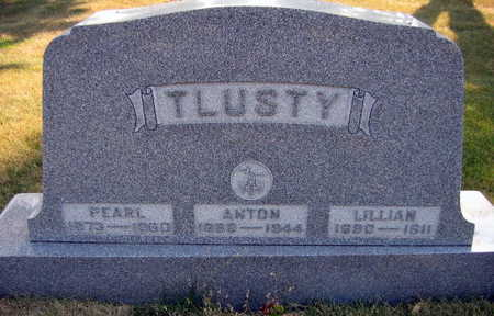 TLUSTY, PEARL - Linn County, Iowa | PEARL TLUSTY