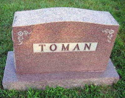 TOMAN, FAMILY STONE - Linn County, Iowa | FAMILY STONE TOMAN