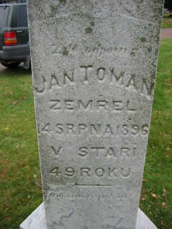 TOMAN, JAN - Linn County, Iowa | JAN TOMAN