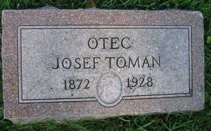 TOMAN, JOSEF - Linn County, Iowa   JOSEF TOMAN