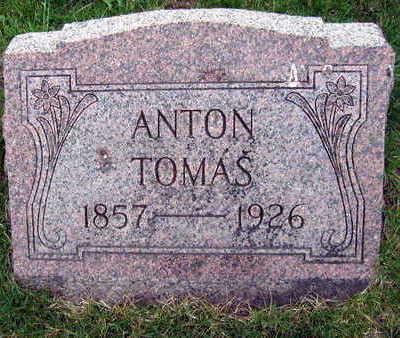 TOMAS, ANTON - Linn County, Iowa   ANTON TOMAS