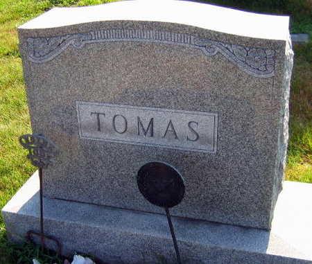 TOMAS, FAMILY STONE - Linn County, Iowa   FAMILY STONE TOMAS