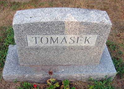 TOMASEK, FAMILY STONE - Linn County, Iowa   FAMILY STONE TOMASEK
