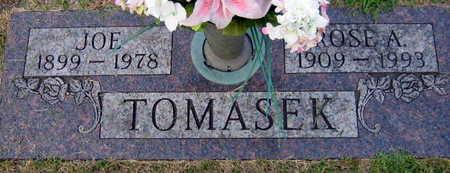 TOMASEK, JOE - Linn County, Iowa | JOE TOMASEK