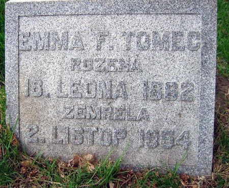TOMEC, EMMA  F. - Linn County, Iowa | EMMA  F. TOMEC